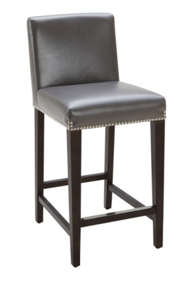 Excellent Brooke Leather Counter Stool By Sunpan Modern 38408 Creativecarmelina Interior Chair Design Creativecarmelinacom